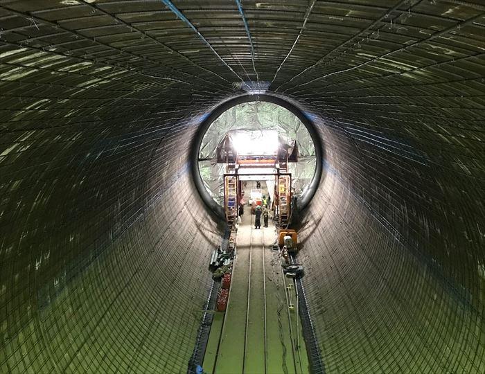 トンネル鉄筋工事